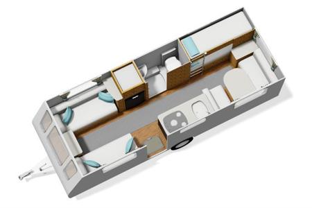 Elddis Sanremo 526 floor plan
